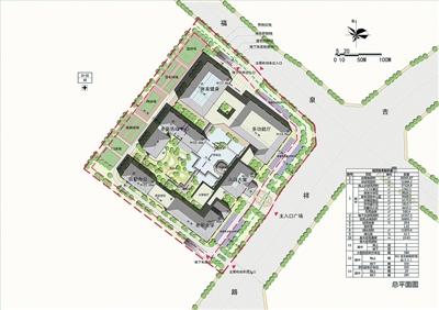 """平顶山市 """"四馆一中心""""建筑规划设计方案公示"""